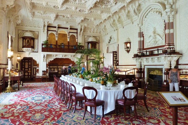 The State Dining Room Osborne House C Derek Voller
