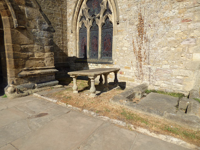 Church of St Gregory, Bedale - table © Stephen Craven cc-by-sa