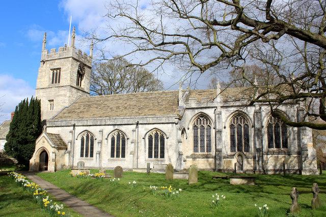All Saints' Church, Bolton Percy © Chris Heaton cc-by-sa/2.0