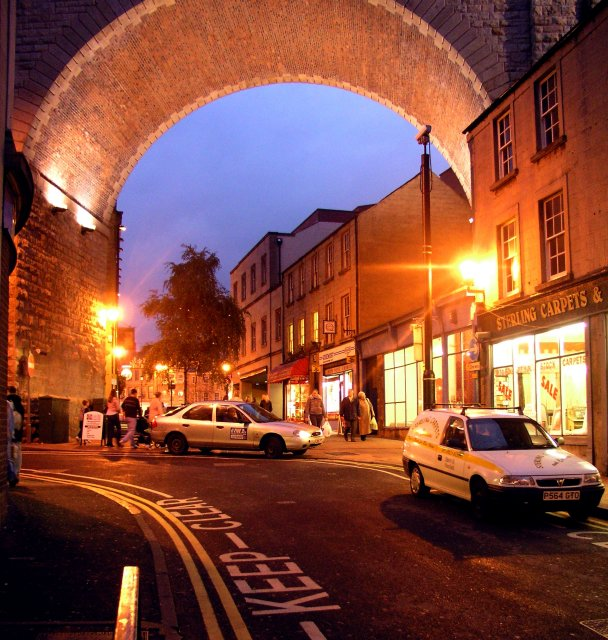 Railway Viaduct, Church Street, Mansfield
