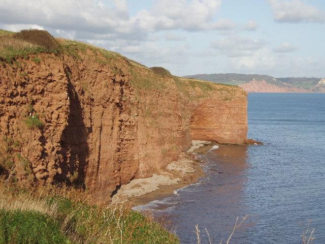Sandstone Cliffs at Brandy Head (C) Sheila Russell :: Geograph Britain ...