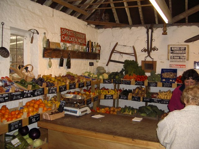 Great Park Farm Shop Interior Near Nigel Stickells