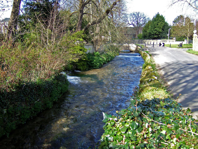 The River Wey At Upwey Mike Searle Geograph Britain And Ireland