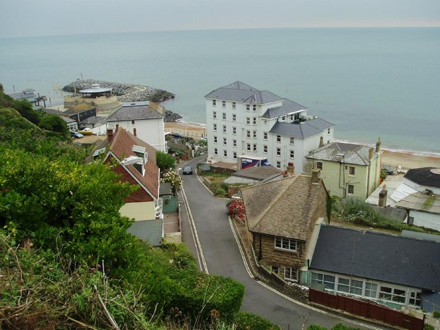 Metropole Apartments And Seafront At Nigel Freeman