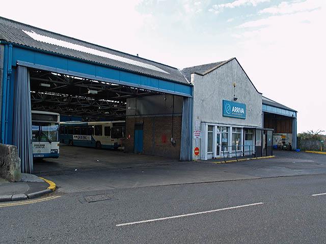 Loftus Bus Depot Stephen McCulloch Geograph Britain