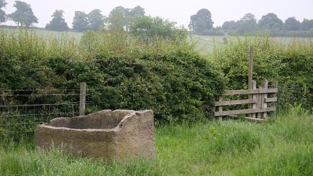 Stone trough and stile