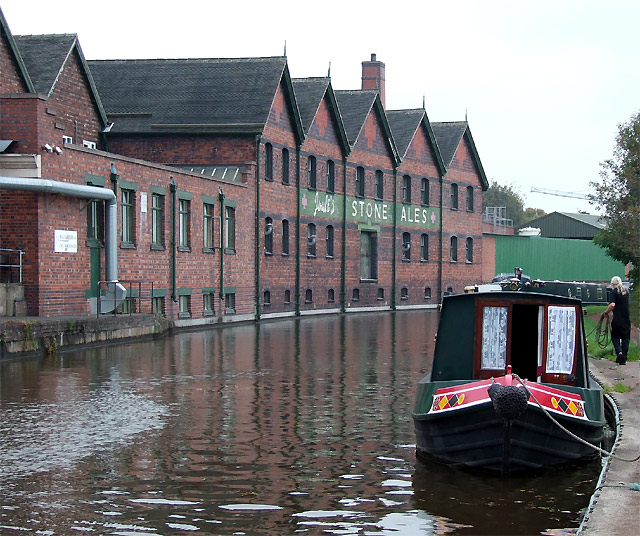 Joule's Building, Trent and Mersey Canal, Stone, Staffordshire