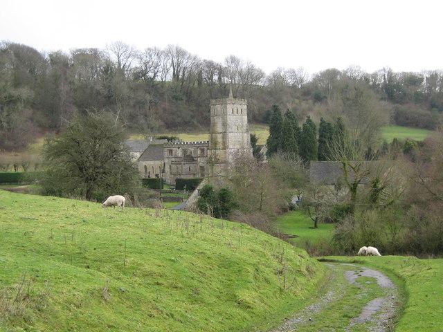View of Hawkesbury Church © George Evans cc-by-sa/2.0 :: Geograph
