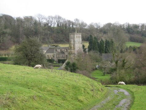 View of Hawkesbury Church © George Evans cc-by-sa/2.0 :: Geograph