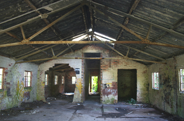 Derelict Building In Twemlows Big Wood Espresso