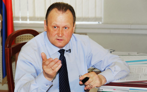 Head of Administration of the Vyborg District of the Leningrad Region Gennady Orlov