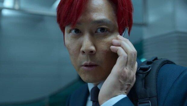 "Сон Кі Хун (Лі Чон Чже) в серіалі ""Гра в кальмара"""