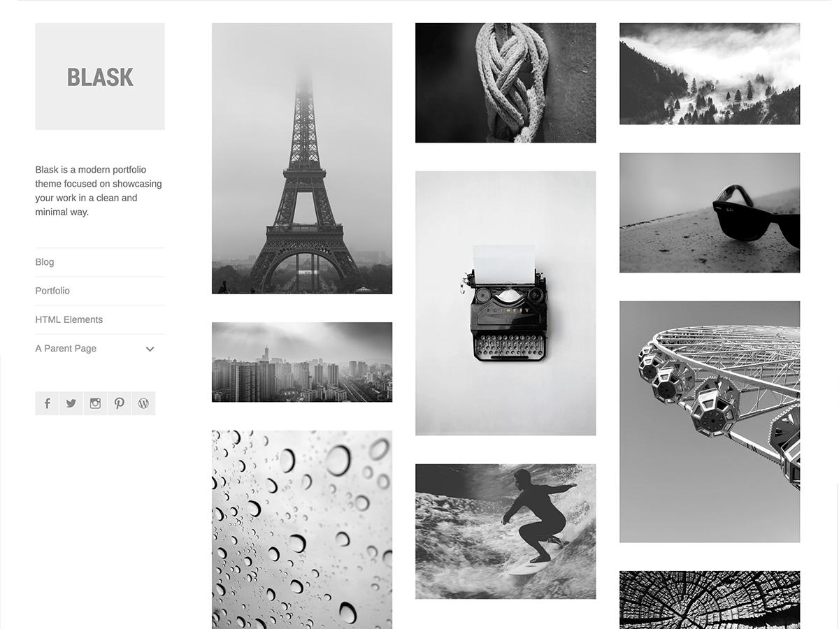 Blask Theme — WordPress.com