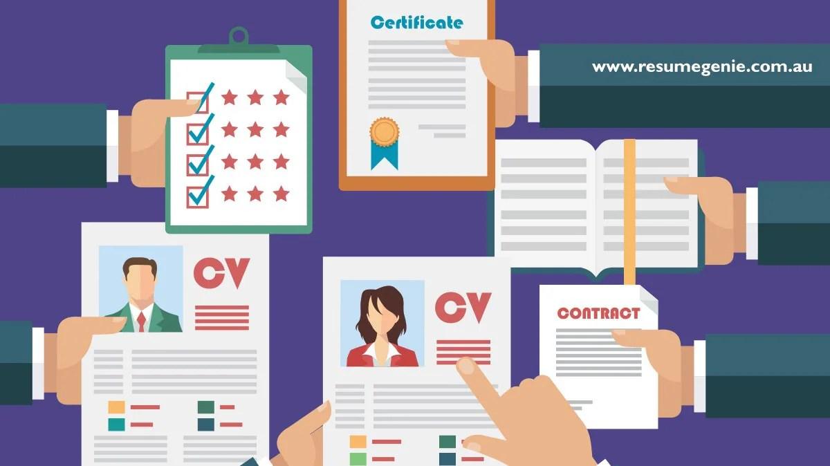 resume writing canberra