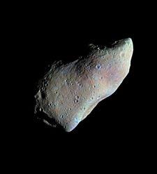 Asteroide que podría rozar la TIerra.