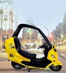 Llegan a Madrid las mototaxis, la solución económica para evitar atascos urbanos