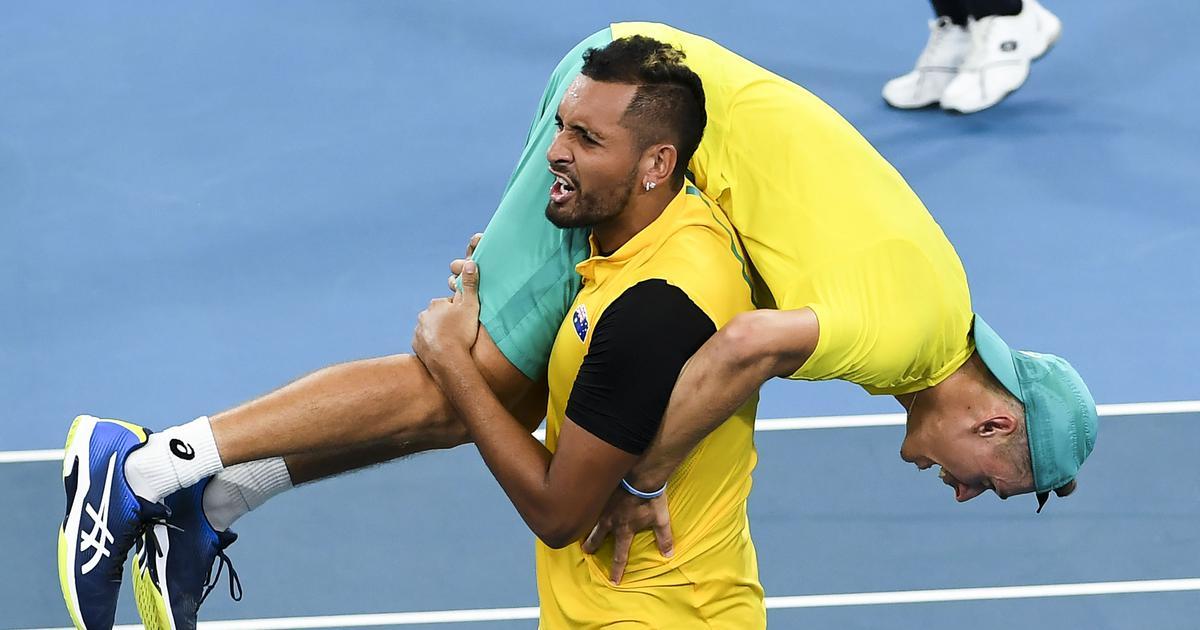 Tennis Australia Edge Britain Out Of Atp Cup In Knife Edge Quarter Final