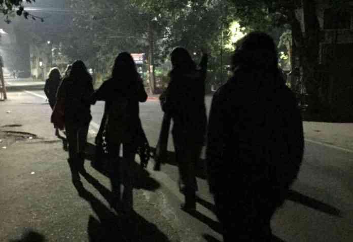 International Women's Day: Women are walking through Delhi at night to  reclaim the city