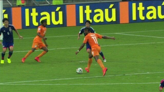 Resultado de imagem para Costa do Marfim 2 x 1 Japão globo