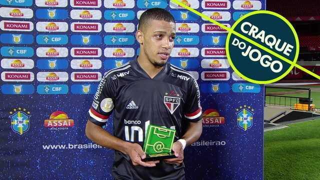 Craque do jogo, Brenner fala sobre a fase artilheira e o bom momento do São Paulo