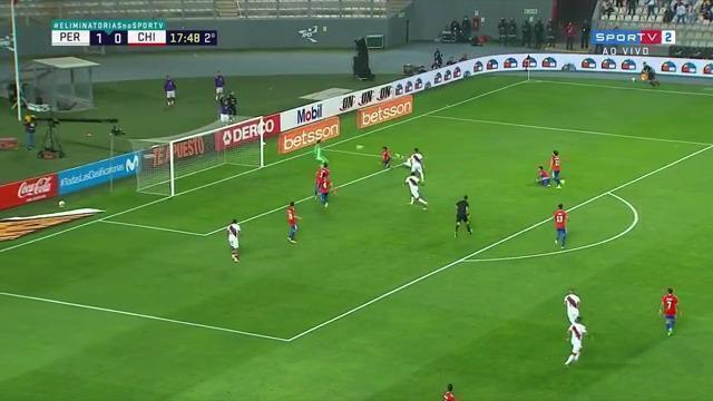 Melhores momentos: Peru 2 x 0 Chile, pela 11ª rodada das eliminatórias para a Copa do Mundo