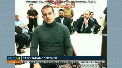 Caso Tatiane Spitzner: veja como foi o depoimento de Luis Felipe Manvailer