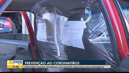 Prevenção ao coronavírus; motoristas buscam estratégias para garantir segurança