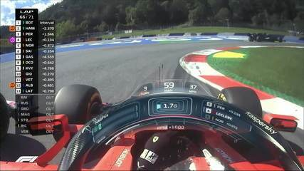Leclerc ultrapassa Perez pelo GP da Áustria