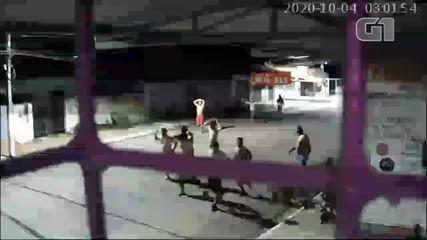 Vídeo mostra reféns sendo entregues antes de assalto a banco no Piauí