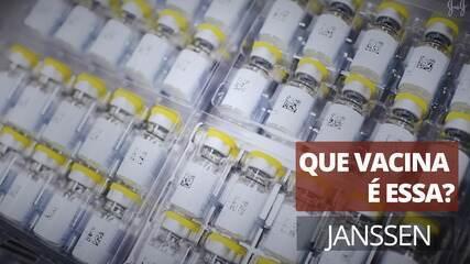 What vaccine is this?  Janssen (Johnson & Johnson)