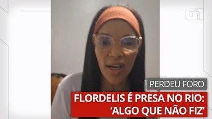 Flordelis fala que está indo 'presa por algo que não cometeu'