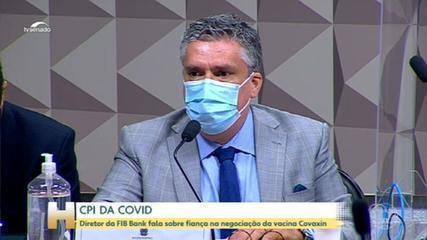Covid CPI: FIB Bank director talks about bail in Covaxin vaccine negotiation