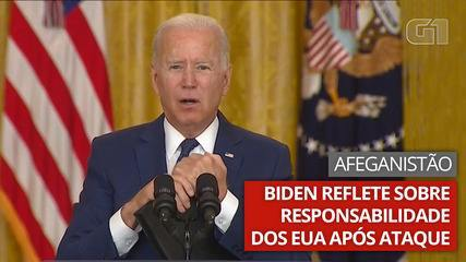 Biden reflects on his responsibility for attacking Americans in Afghanistan