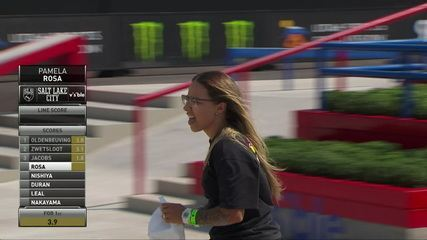 Pamela Rosa makes 2.4 on the lap of the final