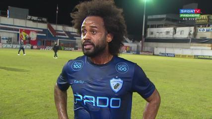 """Celsinho, midfielder at Londrina, confirms that he suffered racial injury and says: """"the arrangements will be taken"""""""