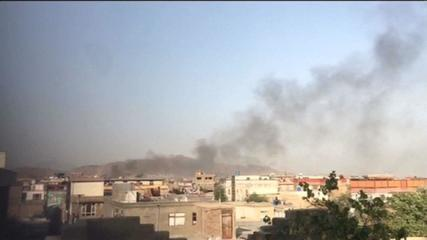 VIDEO: Images show smoke over Kabul after new explosion
