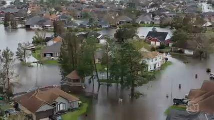 Hurricane Ida wreaks havoc in Louisiana, USA