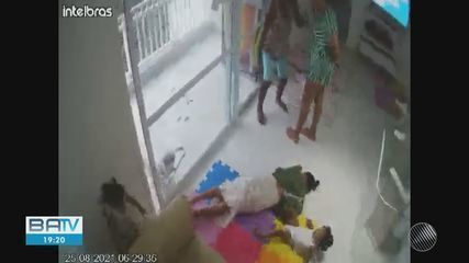 Video shows nanny fainting after being attacked by businesswoman Melina Esteves
