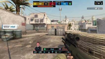 Player dev1ce punches monitor after losing round in CS:GO