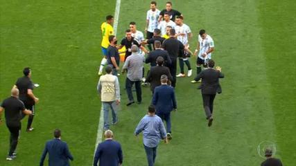 PF announces investigation of four Argentine players for ideological falsehood