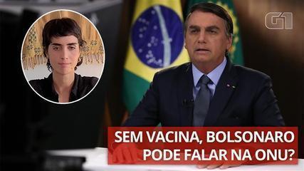 Como Bolsonaro vai a Nova York sem se vacinar?