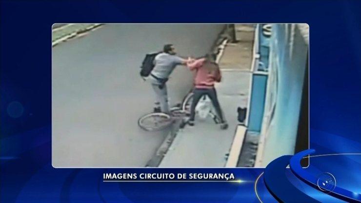 Câmera registra policial militar agredindo mulher em Neves Paulista; vídeo