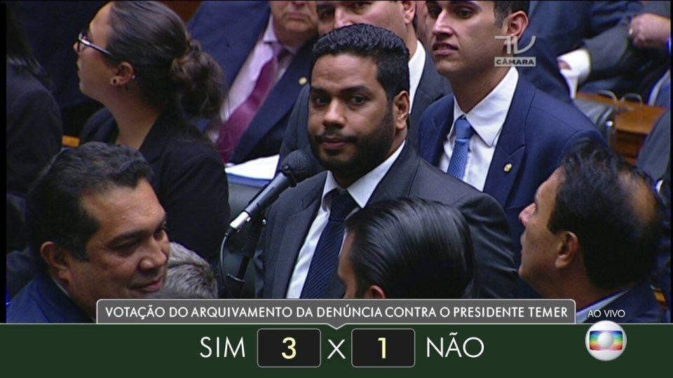 Veja como votaram dos deputados do estado de Roraima