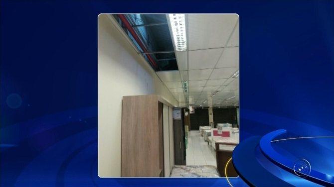 Ladrões entram em loja de departamentos pelo teto e levam mais de R$ 30 mil