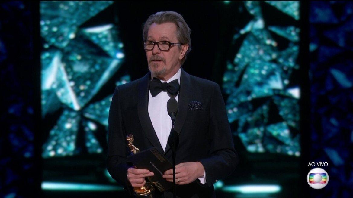 Gary Oldman ganha Oscar de Melhor ator