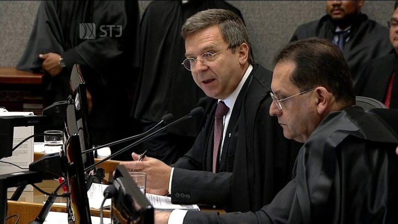 Subprocurador Francisco Alves de Assis Vieira fala em nome do Ministério Público