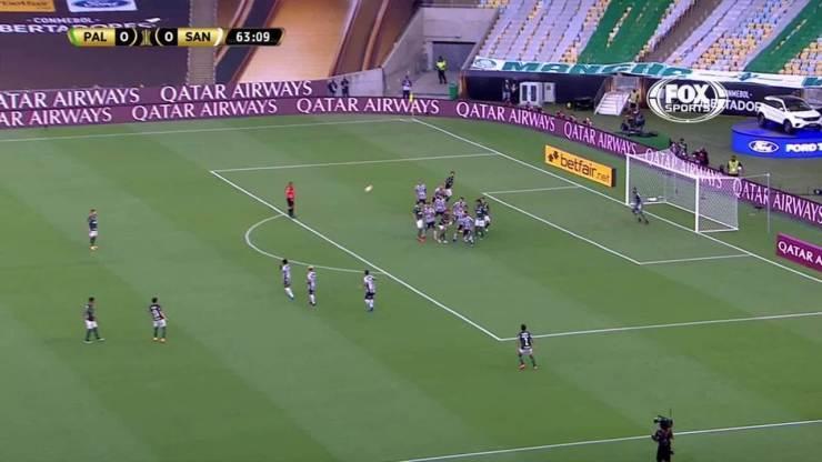 Melhores momentos de Palmeiras 1 x 0 Santos pela final da Libertadores