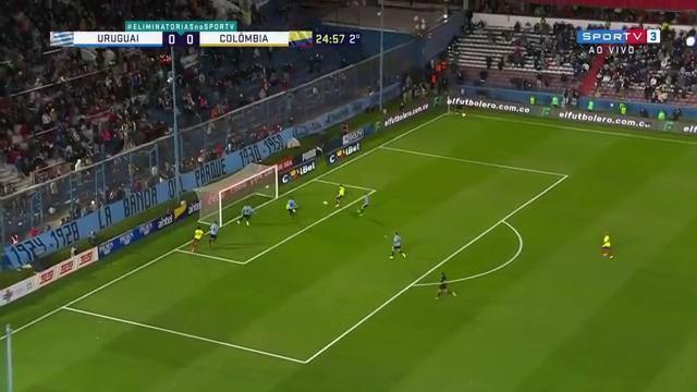 Melhores momentos: Uruguai 0 x 0 Colômbia, pela 11ª rodada das eliminatórias para a Copa do Mundo