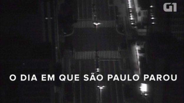 Vídeo do G1 de 2016 mostra o dia em que São Paulo parou em 2006