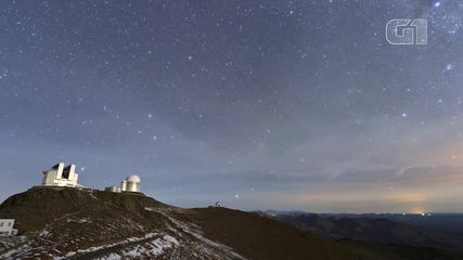 Timelapse shows the sky from La Silla Observatory in Chile